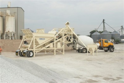 Con-E-Co All Pro 5 Decum Mobile Concrete Batch Plant