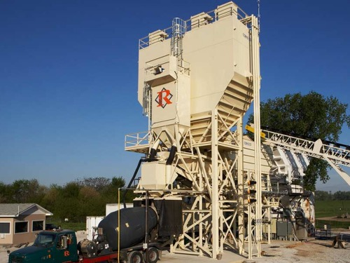 Concrete Plant Dust Collection Equipment